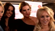 News of the World Children's Champions Awards 2011 celebrity arrivals and interviews Jennifer Metcalfe and other Hollyoaks actresses interviewed SOT...
