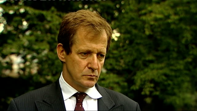 Alastair Campbell interview ENGLAND London Westminster EXT Alastair Campbell interview SOT Don't think there's any doubt when News International...