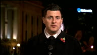 US Presidential Election 2012 0430 0530 Ohio Columbus Geraint Vincent LIVE from Columbus Gene Pierce and unidentified Democrat Party Volunteer LIVE...