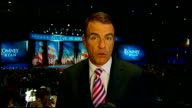 US Presidential Election 2012 0530 0620 Boston Bill Neely LIVE 2WAY interview from Romney camp in Boston SOT