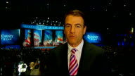 US Presidential Election 2012 0530 0620 Neely LIVE 2WAY interview from Romney camp in Boston SOT