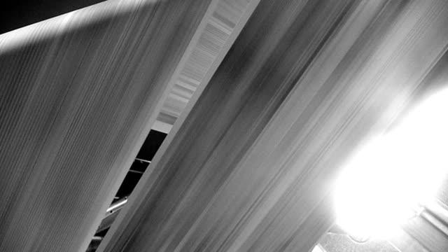 Newspaper printing looking up