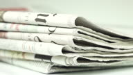 Newspapers - close up