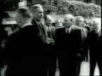 Newsreel / Britain Reshapes Empire / Prime Minister Attlee with British officials including Ernest Bevin / Piece about Attlee freeing India and...