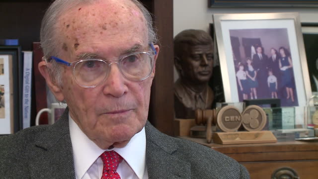 WGN Newton Minow appointed by John F Kennedy as the nation's first FCC chairman talked about his memories of Kennedy the Kennedy administration and...