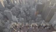 newyork_15_4k_manhatten_topoftherocks_topshot_people_movement