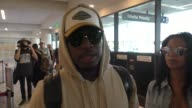 INTERVIEW NeYo talks about Georgetown University's involvement with slavery while departing at LAX Airport in Los Angeles in Celebrity Sightings in...