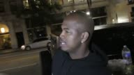 INTERVIEW NeYo talks about his new music his sisters new music outside Katsuya Restaurant in Hollywood in Celebrity Sightings in Los Angeles