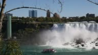 Niagra Falls with Tourist Boat