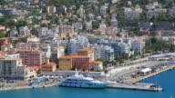 Nice harbour, Côte d'Azur, France