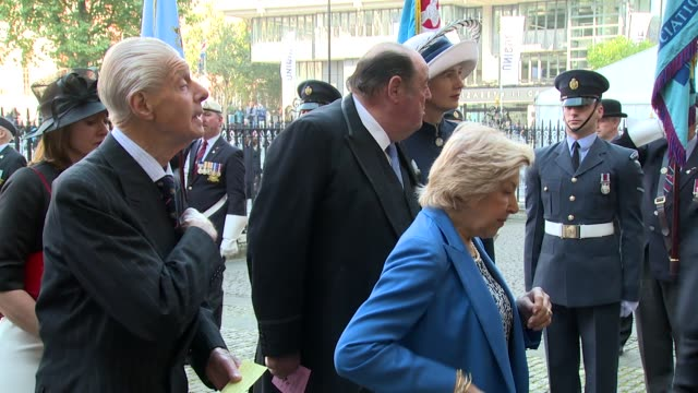 Nicholas Soames at Westminster Abbey on September 20 2015 in London England