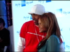 Nick Cannon and Christina Milian at the American Express Jam Sessions at House of Blues in Los Angeles California on February 9 2005