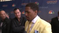 INTERVIEW Nick Cannon on his favorite thing about being on AGT what fans ask him about AGT which Spice would the judges be how he doesn't dream of...