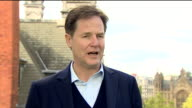 Nick Clegg criticising the Labour Party's stance on Brexit calling it 'too little too late and too muddled'