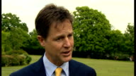 Nick Clegg interview and visit to Cypriot Community Centre Clegg interview SOT / Different Clegg interview SOT On AstraZeneca takeover bid / INT...