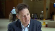Nick Clegg saying Theresa May is under pressure because she was a 'former remainer' and is a Prime Minister with no mandate whilst also criticising...