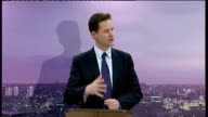 Nick Clegg speaks on community relations and dealing with extremism The enemies of liberty are those people who have closed their minds closed off...