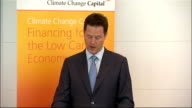 Nick Clegg speech at Climate Change Capital Clegg speech SOT The liberal philosopher John Rawls insisted that justice requires us to consider the...