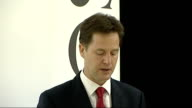 Nick Clegg speech at Demos Nick Clegg speech continued SOT I agree This is a vital element of the liberal approach as opposed to libertarians or...