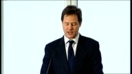 Nick Clegg speech on tax proposals Nick Clegg speech continued SOT And it is those same values that same belief in the potential of ordinary men and...