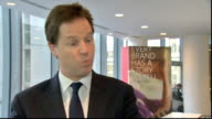 Nick Clegg visit to Microsoft Nick Clegg MP interview on internships SOT its an issue when big companies or govt in the past gave work experience or...