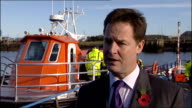 Nick Clegg visits Alnmaritec / interview Nick Clegg interview SOT On 50 per cent pay rise of chief executives these reports of huge increases of top...