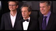 Nick Ferrall Brian Grazer and Scott Pascucci at 59th Annual Grammy Awards Arrivals at Staples Center on February 12 2017 in Los Angeles California 4K