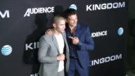 Nick Jonas Frank Grillo at DIRECTV Celebrates the Season 2 Premiere of KINGDOM in Los Angeles CA
