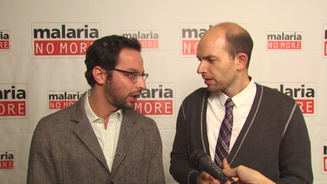 Nick Kroll and Paul Scheer on on what people can do to support the campaign on one statistic they want people to know on mosquitos at the Malaria No...