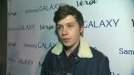INTERVIEW Nick Robinson on his photo shoot being considered a 'breakout talent' his new movie Sundance experience at the Verge Launch Party in Park...