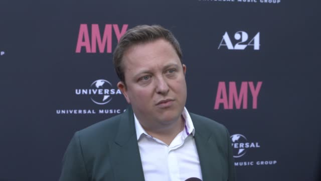 INTERVIEW Nick Shymansky on Amy Winehouse her unique sound and her personality at The US Premiere Of AMY Presented By Chairman CEO Of Universal Music...