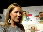 Nickelodeon Kids Choice Awards 2008 Heidi Range interview SOT Doesnt' want to get slimed up against McFly Girls Aloud for Fav Band Sugababes really...