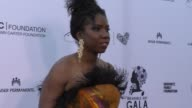 Nicki Micheaux at The Wearable Art Gala at California African American Museum on April 29 2017 in Los Angeles California