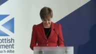 Nicola Sturgeon calls for a new crossparty consensus on boosting the powers of Holyrood in the face of Brexit 'threatening the underpinning...