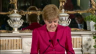 Nicola Sturgeon confirming that she wishes to pursue a second Scottish independence referendum