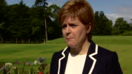 Nicola Sturgeon saying despite being opponents she has always admired outgoing Scottish Labour leader Kezia Dugdale
