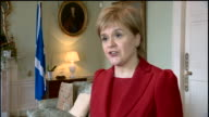Nicola Sturgeon saying Theresa May has called a snap general election to 'take advantage of the disarray of the Labour party' and to 'crush all...
