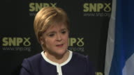 Nicola Sturgeon saying Theresa May is 'putting herself in opposition to the democratic will of the Scottish Parliament and I don't think that's a...