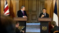 press conference with Gordon Brown Question SOT Do both of you believe that you can reach an agreement on regulating hedge funds in Europe between...