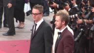 Nicolas Winding Refn Ryan Gosling at the Closing Gala Awards Red Carpet 64th Cannes Film Festival at Cannes