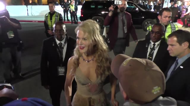 Nicole Kidman arriving to the Palm Springs International Film Festival Film Awards Gala in Palm Springs in Celebrity Sightings in Los Angeles
