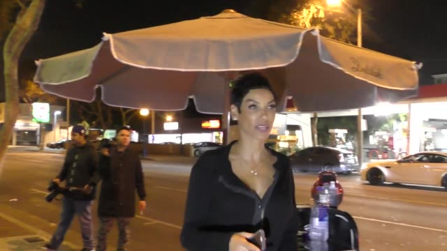 Nicole Mitchell Murphy leaves Delilah in West Hollywood at Celebrity Sightings in Los Angeles on November 17 2017 in Los Angeles California