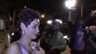 INTERVIEW Nicole Murphy talks about Melania Trump having good style outside Craig's Restaurant in West Hollywood in Celebrity Sightings in Los Angeles