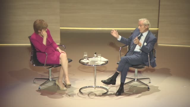 INTERVIEW Nicole Sturgeon on Sir Harold Evans's idea to encourage company boards to increase a female presence in business at Scotland's Political...