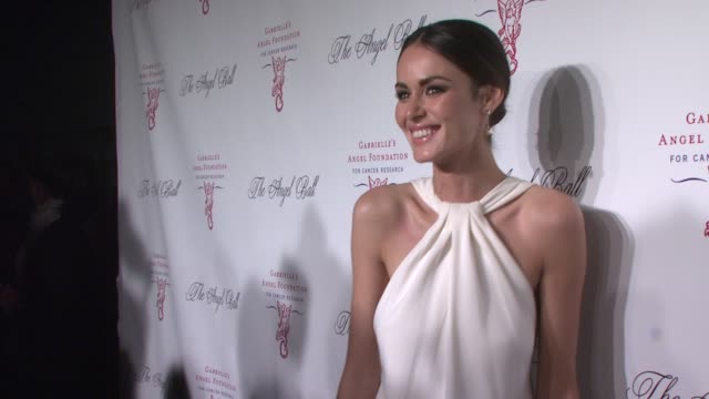 Nicole Trunfio at Angel Ball 2012 Benefiting Gabrielle's Angel Foundation for Cancer Research in New York NY on 10/22/12