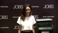 Nicole Trunfio at 'Jobs' New York Premiere Arrivals at MOMA on August 07 2013 in New York New York