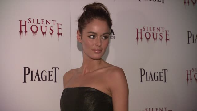 Nicole Trunfio at 'Silent House' Premiere on in New York