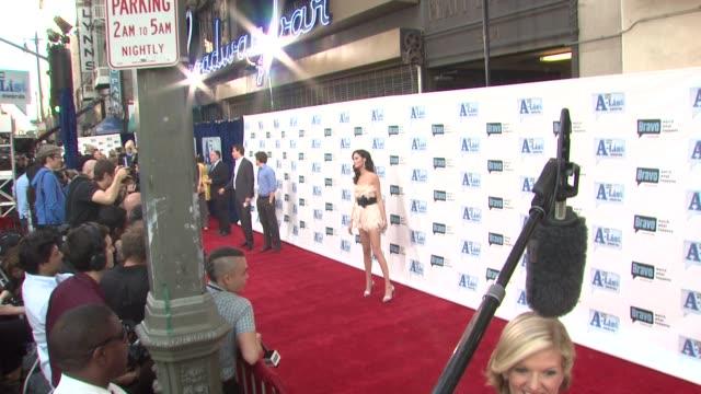 Nicole Trunfio at the Bravo's AList Awards at Los Angeles CA