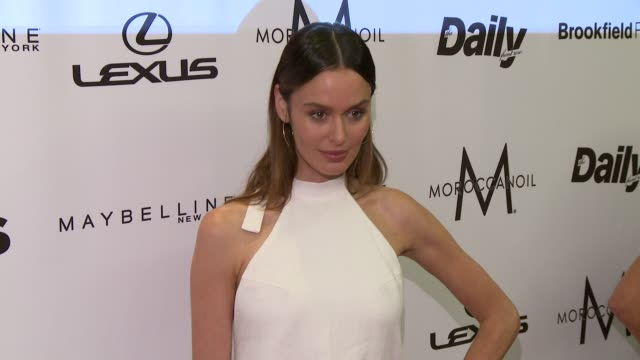 Nicole Trunfio at The Daily Front Row's 4th Annual Fashion Media Awards at the Park Hyatt on September 08 2016 in New York City