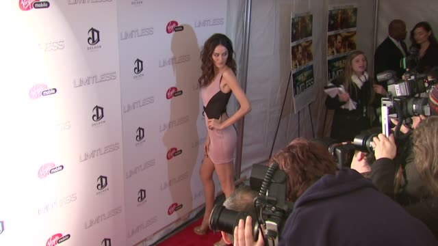 Nicole Trunfio at the 'Limitless' World Premiere Arrivals at New York NY